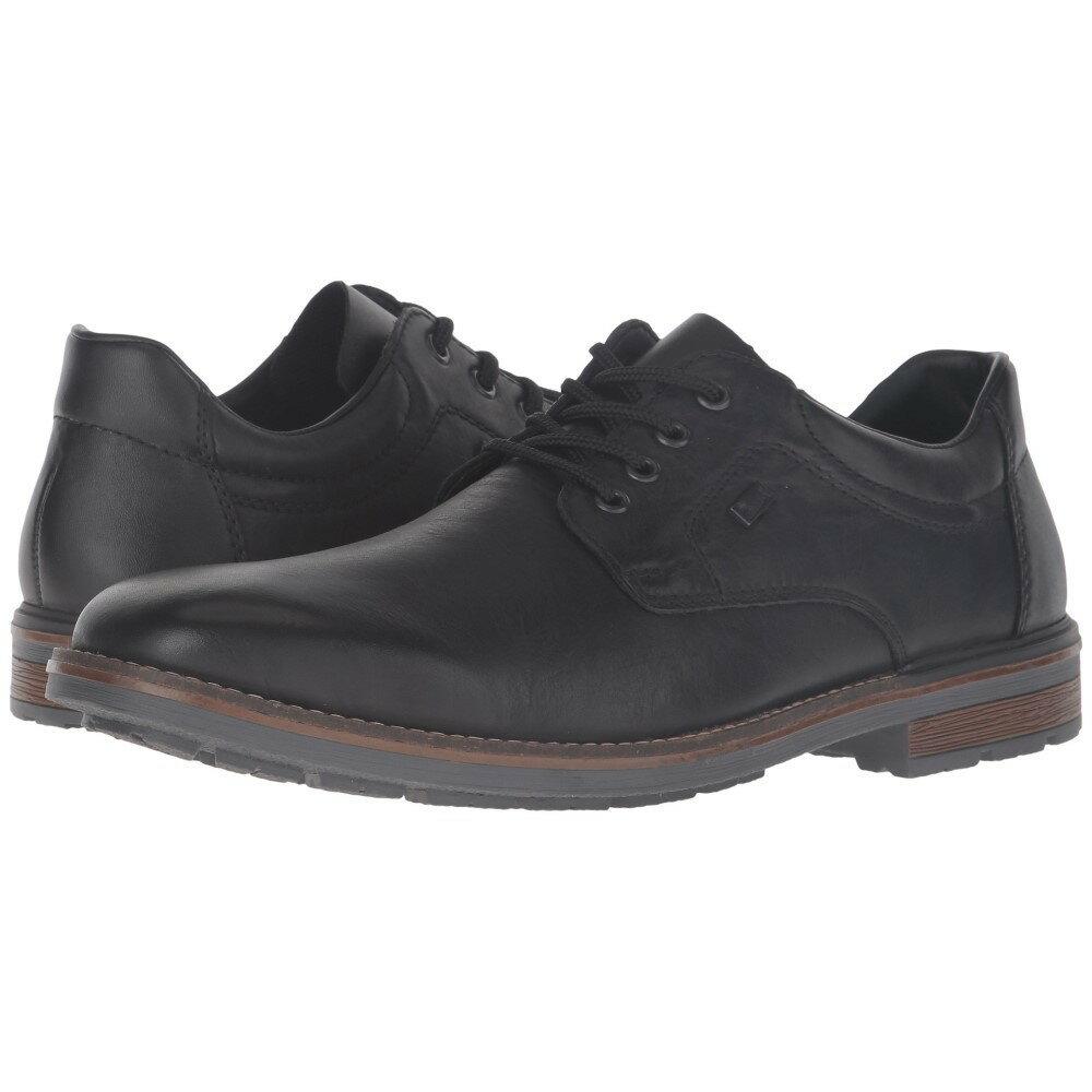 リエカー メンズ シューズ・靴 革靴・ビジネスシューズ【B1312】Black/Black