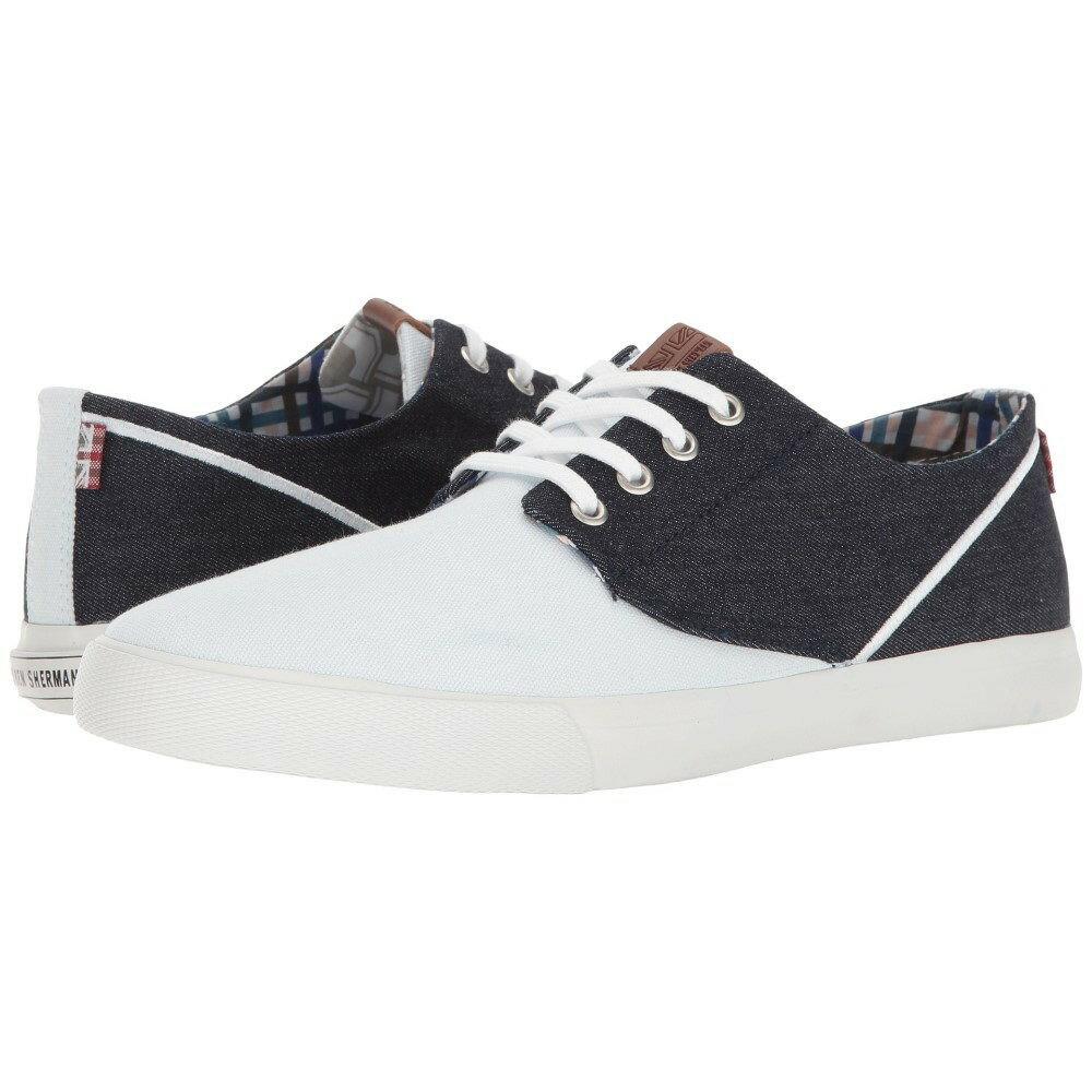 ベンシャーマン メンズ シューズ?靴 スニーカー【Rhett】White/Denim
