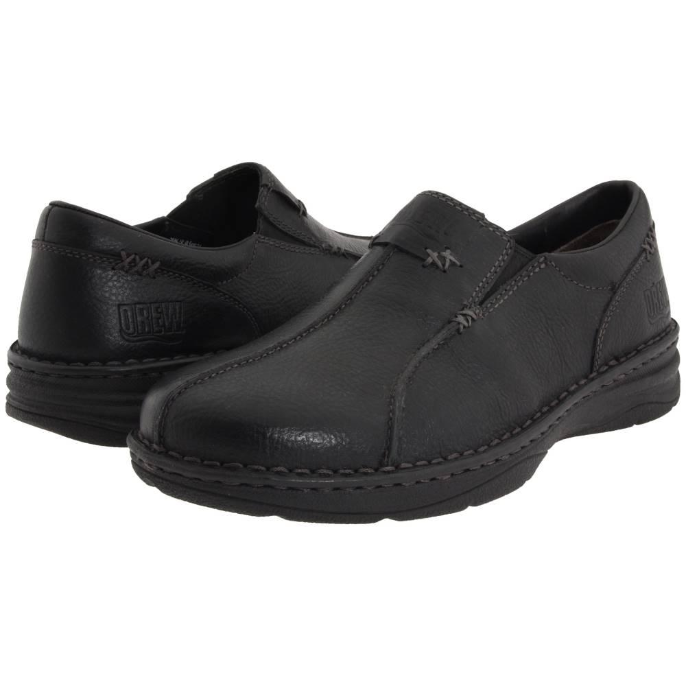 ドリュー Drew メンズ シューズ・靴 ローファー【Max】Black Tumbled Leather