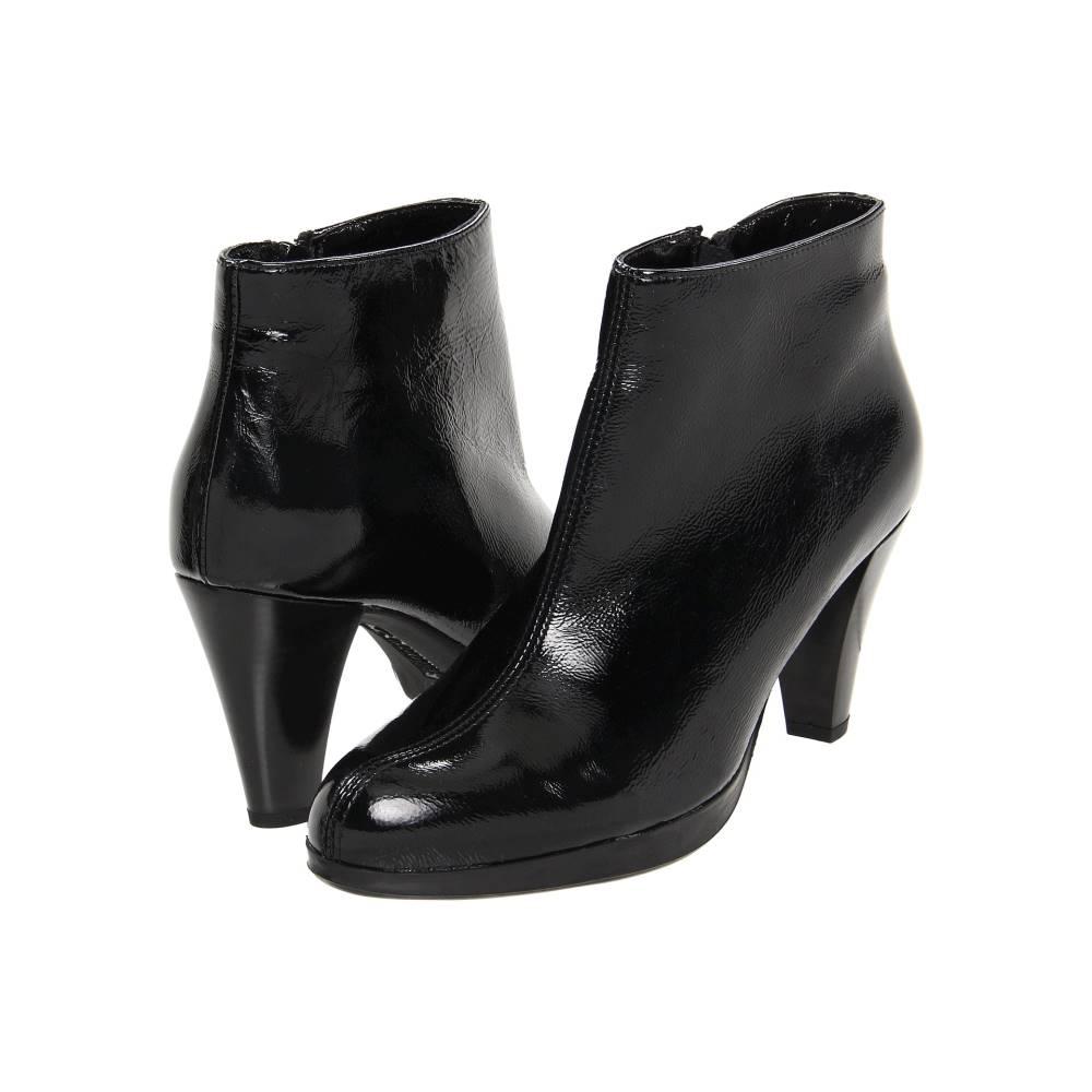 ラ カナディアン レディース シューズ・靴 ブーツ【Megan】Black Crinkle Patent