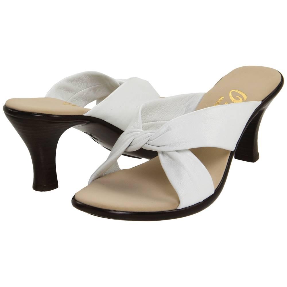 オネックス レディース シューズ・靴 サンダル・ミュール【Modest】White Leather