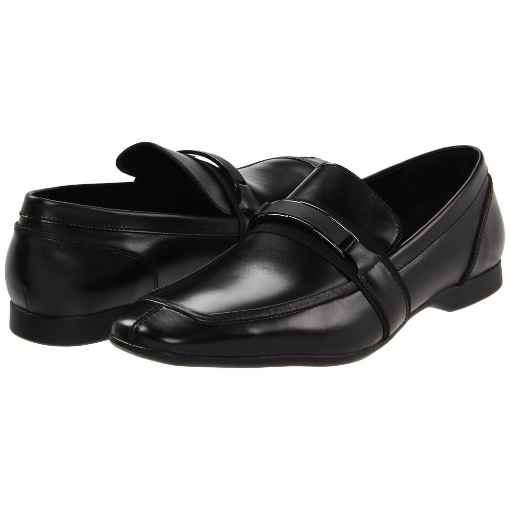 カルバンクライン Calvin Klein メンズ シューズ・靴 ローファー【Shane】Black