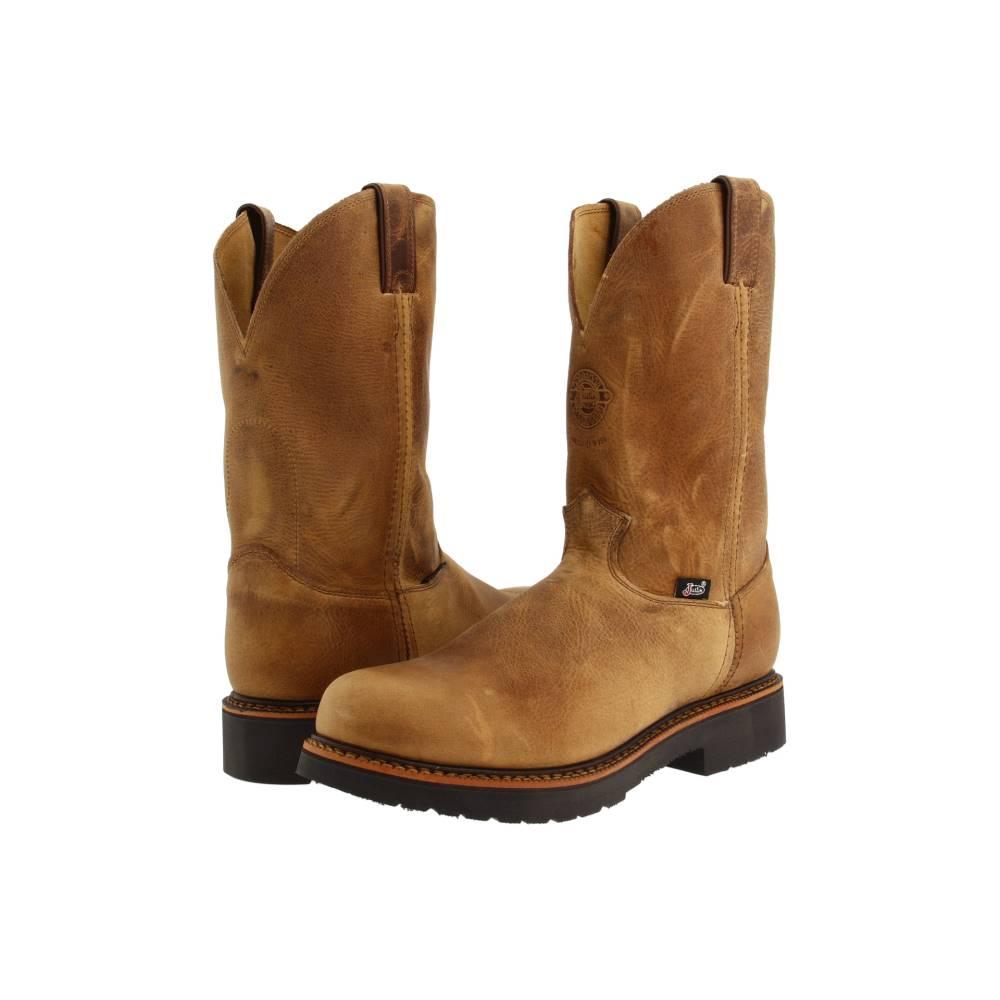 ジャスティン メンズ シューズ?靴 ブーツ【4440 11 Work Boot】Rugged Tan Gaucho