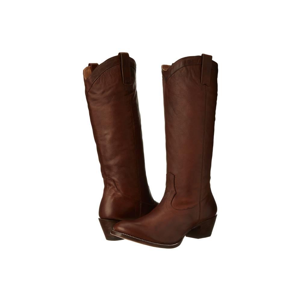 ステットソン レディース シューズ・靴 ブーツ【15 Rustic】Ficcini Brown