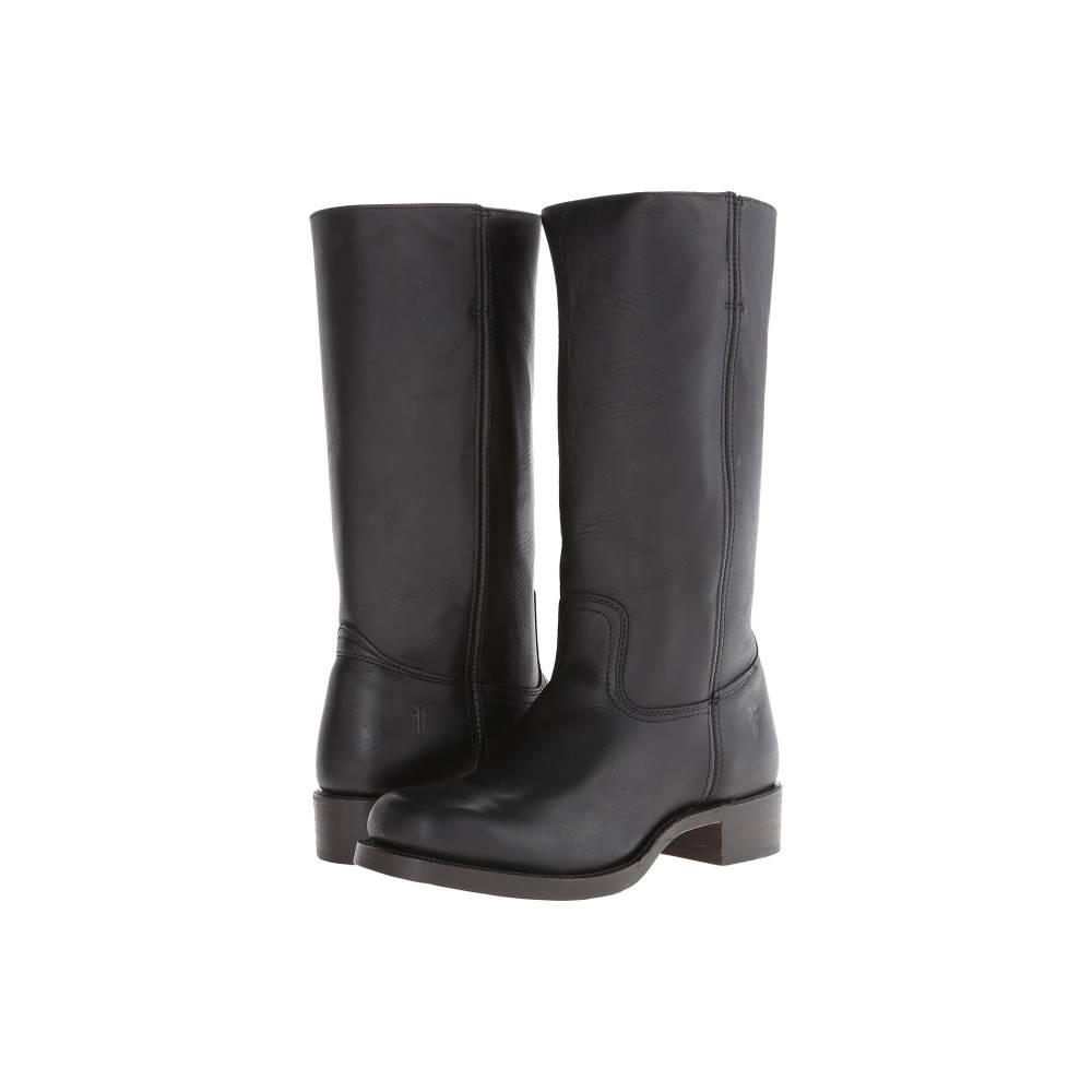 フライ メンズ シューズ・靴 ブーツ【Campus 14L】Black Leather