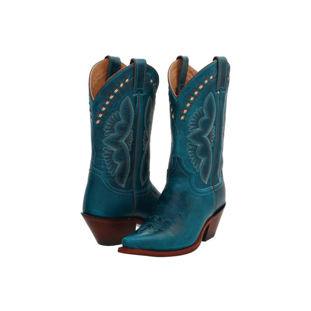 ジャスティン レディース シューズ・靴 ブーツ【L4302】Turquoise