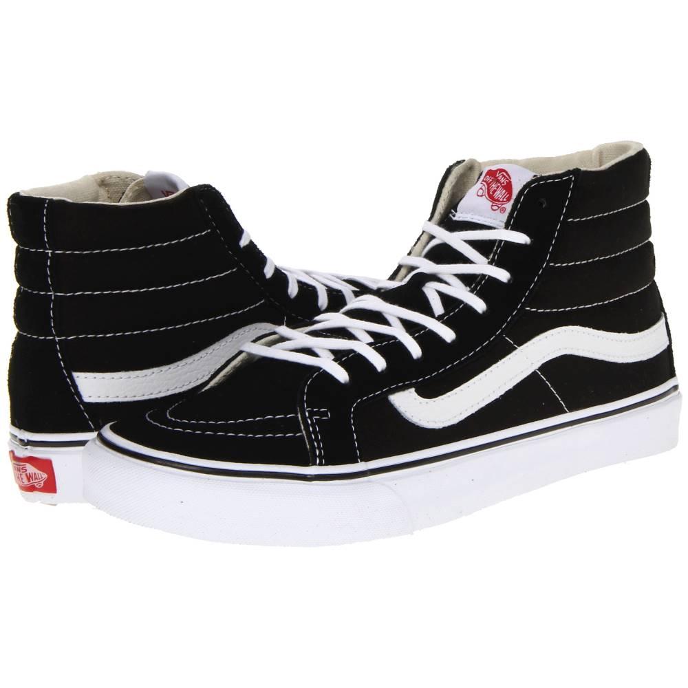 ヴァンズ メンズ シューズ・靴 スニーカー【Sk8-Hi Slim' Core Classics】Black/White