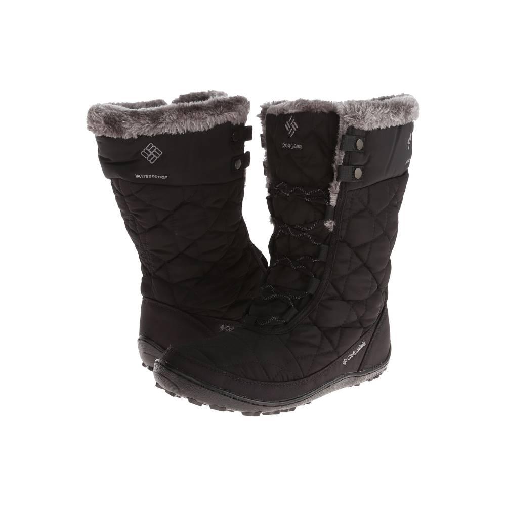 コロンビア レディース シューズ・靴 ブーツ【Minx' Mid II Omni-Heat'】Black/Charcoal