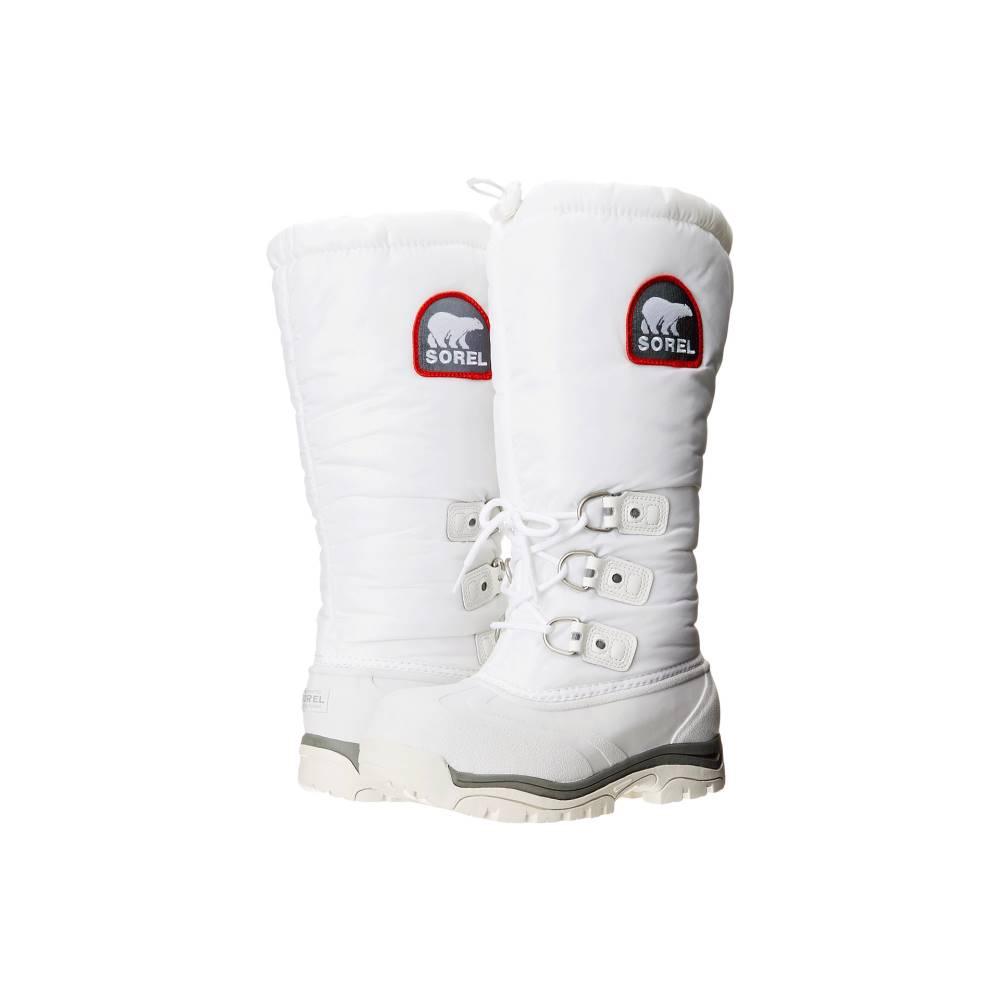 ソレル レディース シューズ・靴 ブーツ【Snowlion' XT】White/Red Quartz