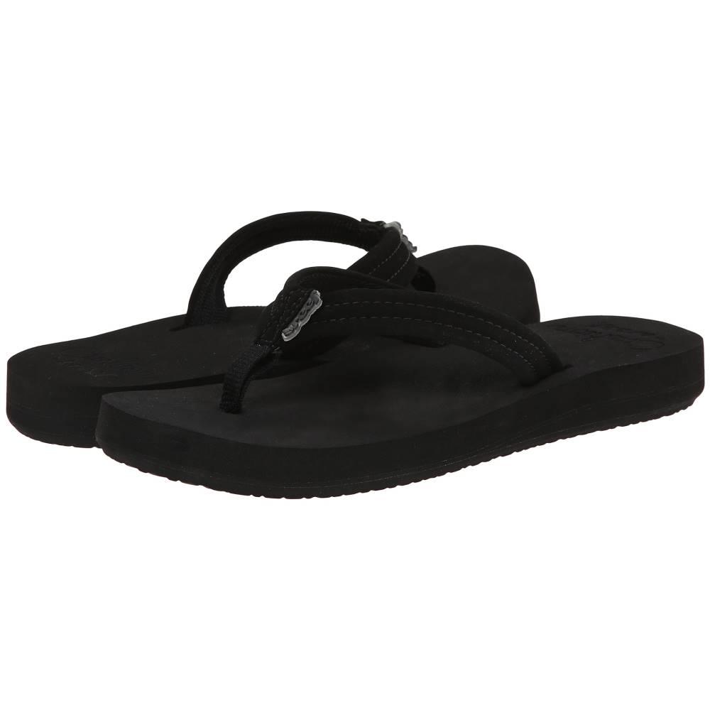 リーフ レディース シューズ・靴 サンダル・ミュール【Cushion Breeze】Black/Black