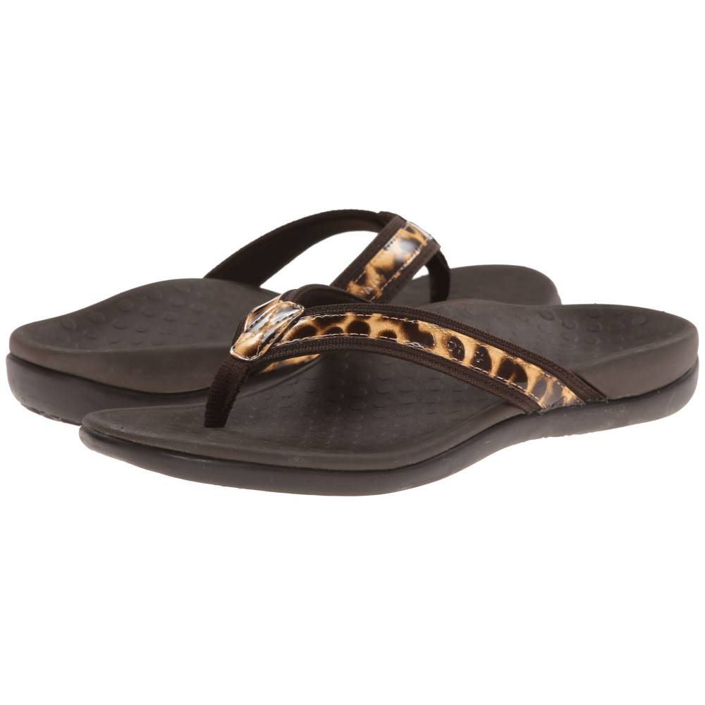 バイオニック レディース シューズ・靴 サンダル・ミュール【Tide II】Brown Leopard
