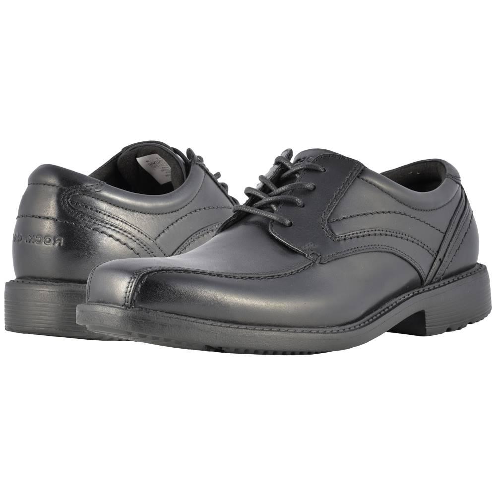 ロックポート メンズ シューズ・靴 革靴・ビジネスシューズ【Style Leader 2 Bike Toe Oxford】Black Waxed Calf