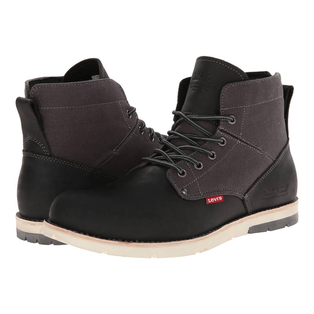 リーバイス メンズ シューズ・靴 ブーツ【Jax】Black/Charcoal