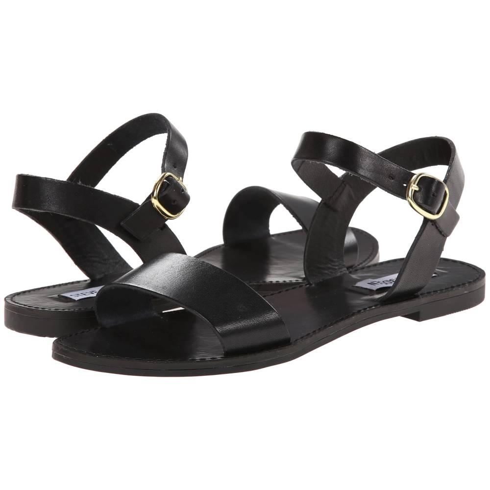 スティーブ マデン レディース シューズ・靴 サンダル・ミュール【Donddi】Black Leather