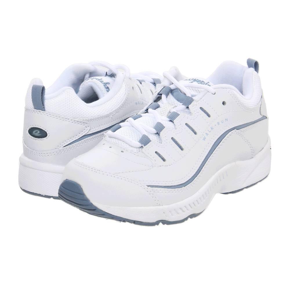 イージー スピリット レディース シューズ・靴 スニーカー【Romy】White/Medium Blue Leather