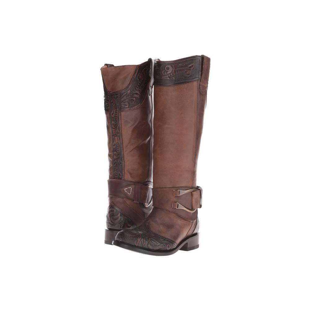 ステットソン レディース シューズ・靴 ブーツ【Paisley】Brown Vamp