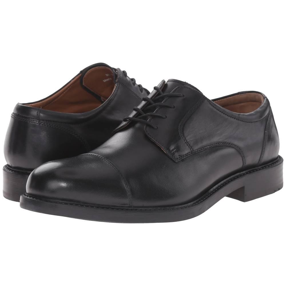 ジョンストン&マーフィー メンズ シューズ・靴 革靴・ビジネスシューズ【Tabor Cap Toe】Black Calfskin