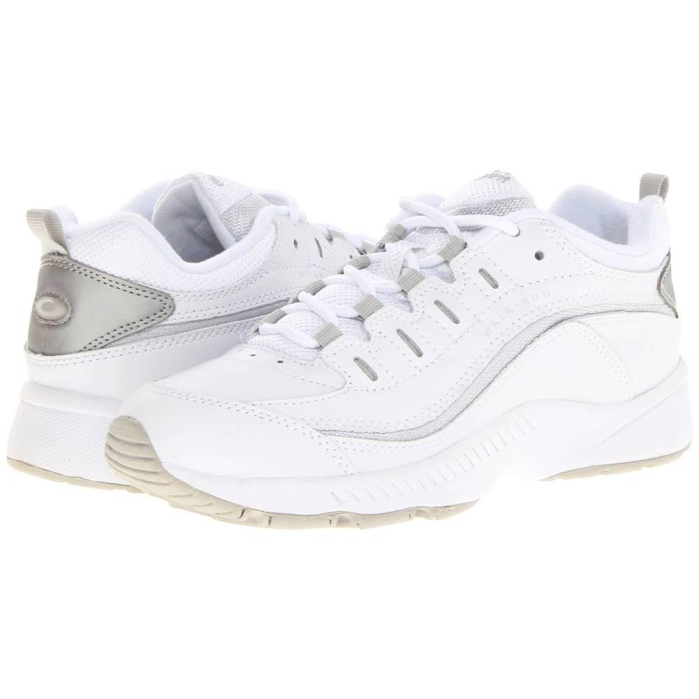 イージー スピリット レディース シューズ・靴 スニーカー【Romy】White/Light Grey Leather