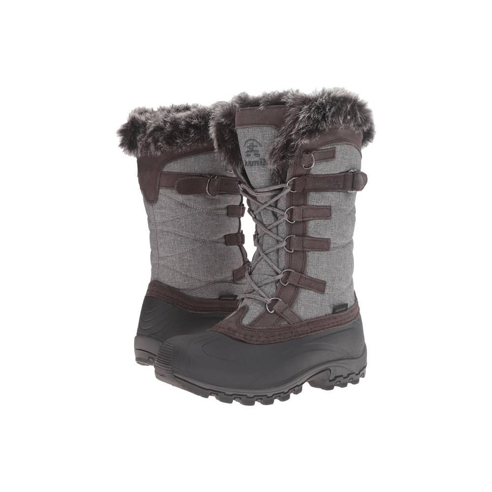 カミック レディース シューズ・靴 ブーツ【Snowvalley】Charcoal 1