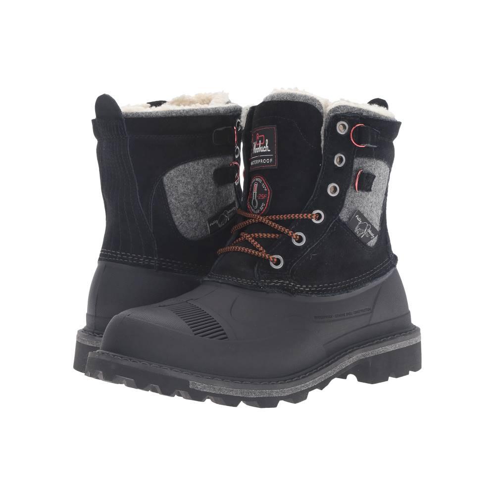 ウールリッチ メンズ シューズ・靴 ブーツ【Fully Wooly Lace】Black
