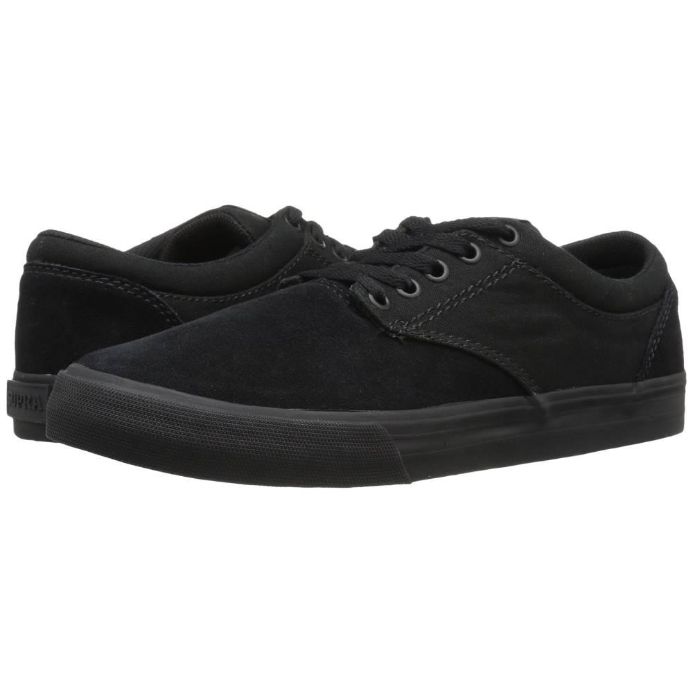 スープラ メンズ シューズ?靴 スニーカー【Chino】Black Suede/Black