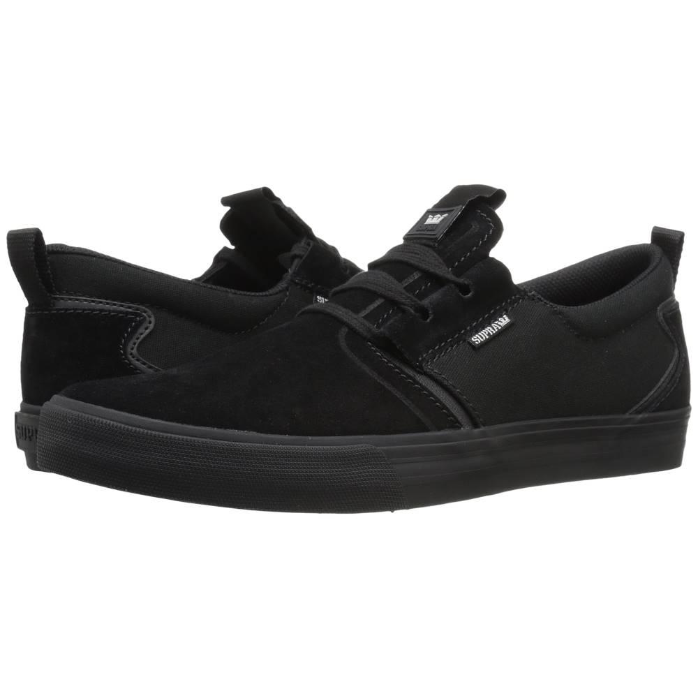 スープラ メンズ シューズ・靴 スニーカー【Flow】Black Suede/Black