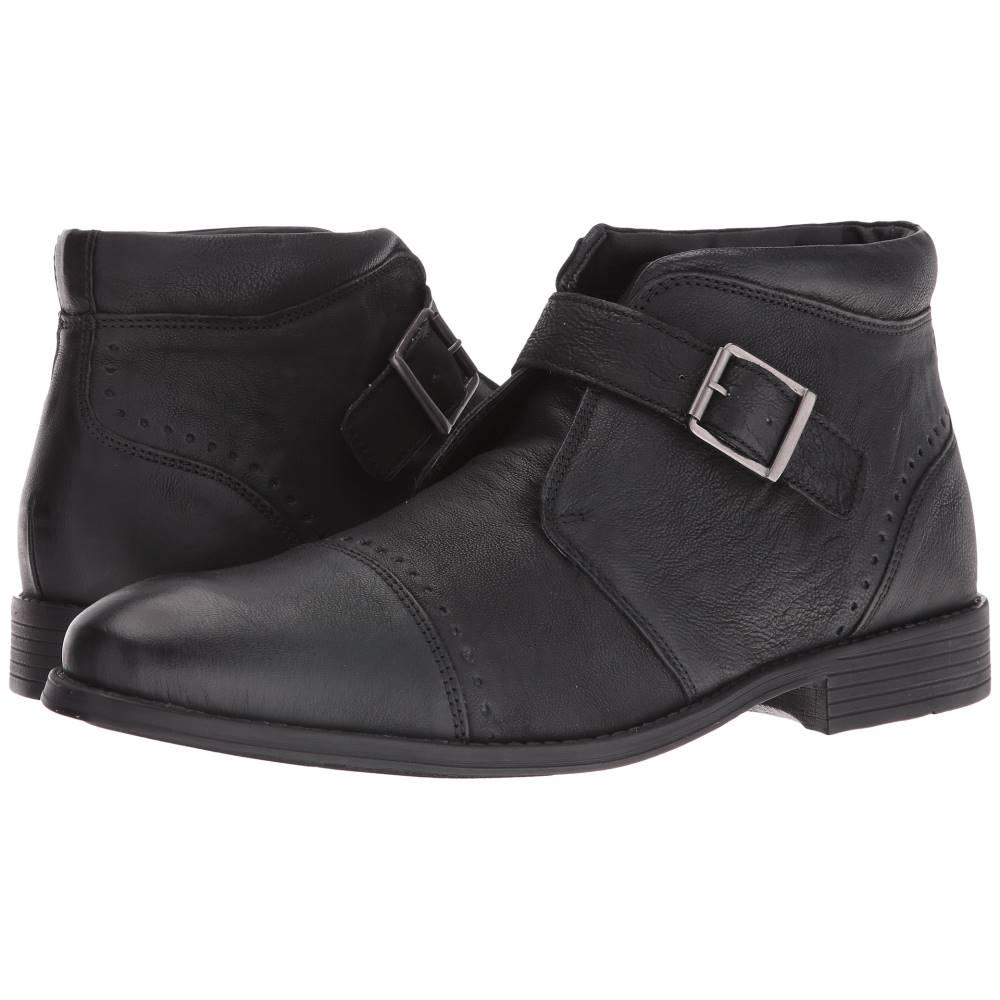 ステイシー アダムス メンズ シューズ・靴 ブーツ【Rawley Cap Toe Monk Strap Boot】Black