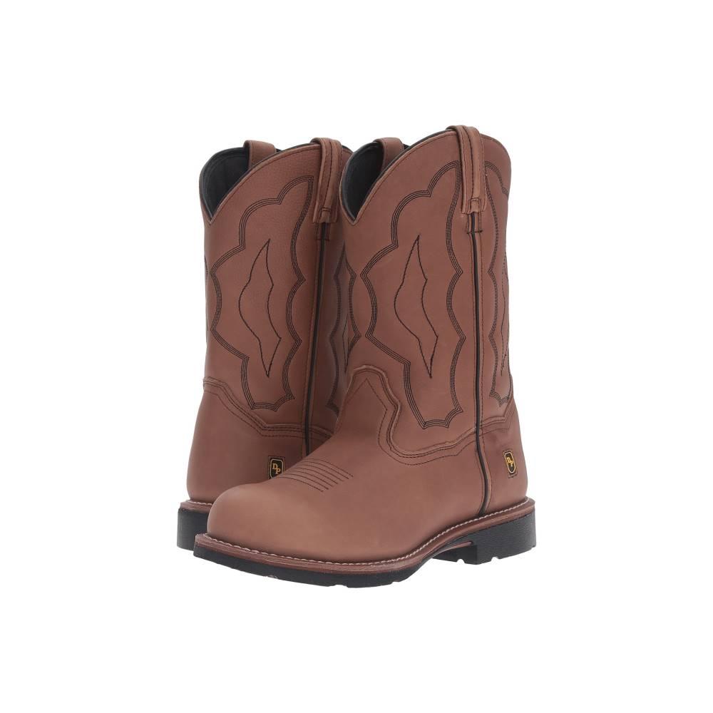 ダンポスト メンズ シューズ・靴 ブーツ【Barbed Wire Steel Toe Boot】Walnut