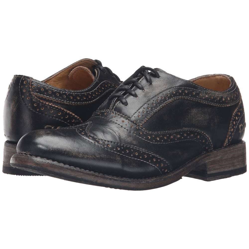 ベッドステュ レディース シューズ・靴 ローファー・オックスフォード【Lita】Black Handwash Leather