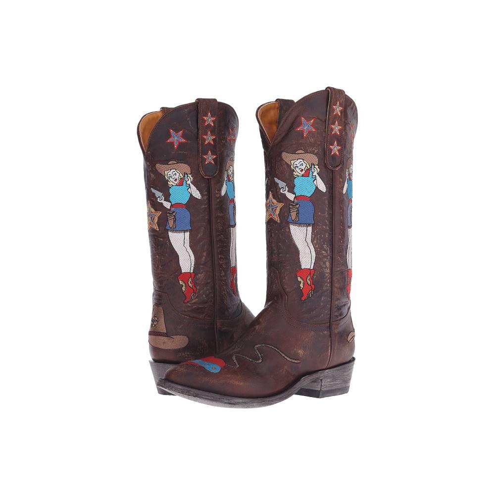 オールドグリンゴ レディース シューズ・靴 ブーツ【Cowgirl Guns】Brass