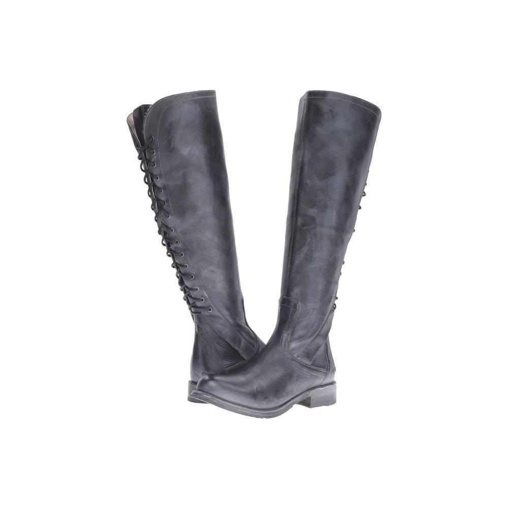 ベッドステュ レディース シューズ・靴 ブーツ【Surrey】Black Rustic/Blue Leather