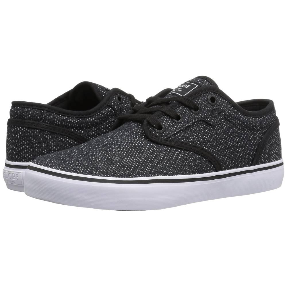 グローブ メンズ シューズ?靴 スニーカー【Motley】Black Woven/White