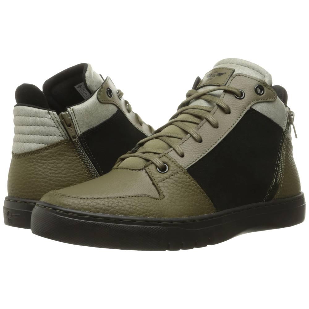 クリエイティブ レクリエーション メンズ シューズ・靴 スニーカー【Adonis Mid】Black/Olive/Fog