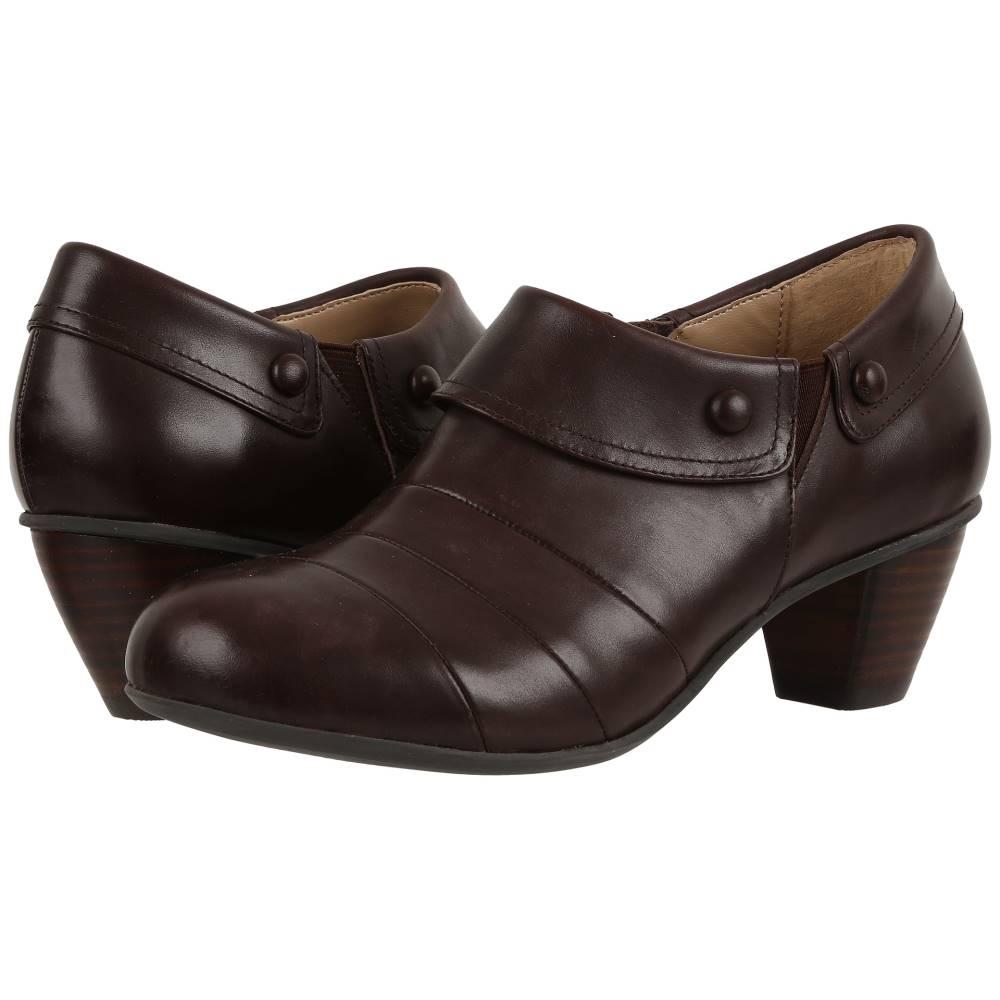 ドリュー レディース シューズ・靴 ヒール【Ashton】Dark Brown Smooth Leather