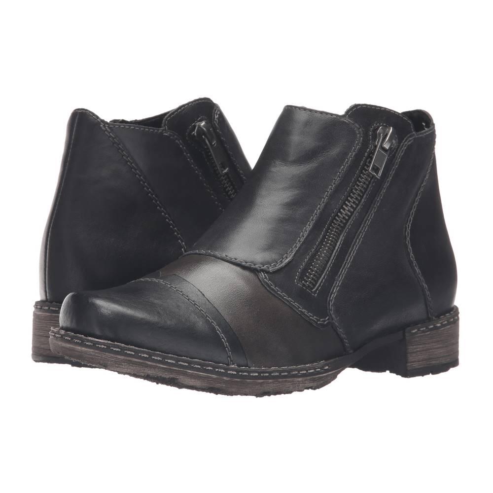 リエカー レディース シューズ・靴 ブーツ【D4377 Chandra 77】Schwarz/Graphit/Lake