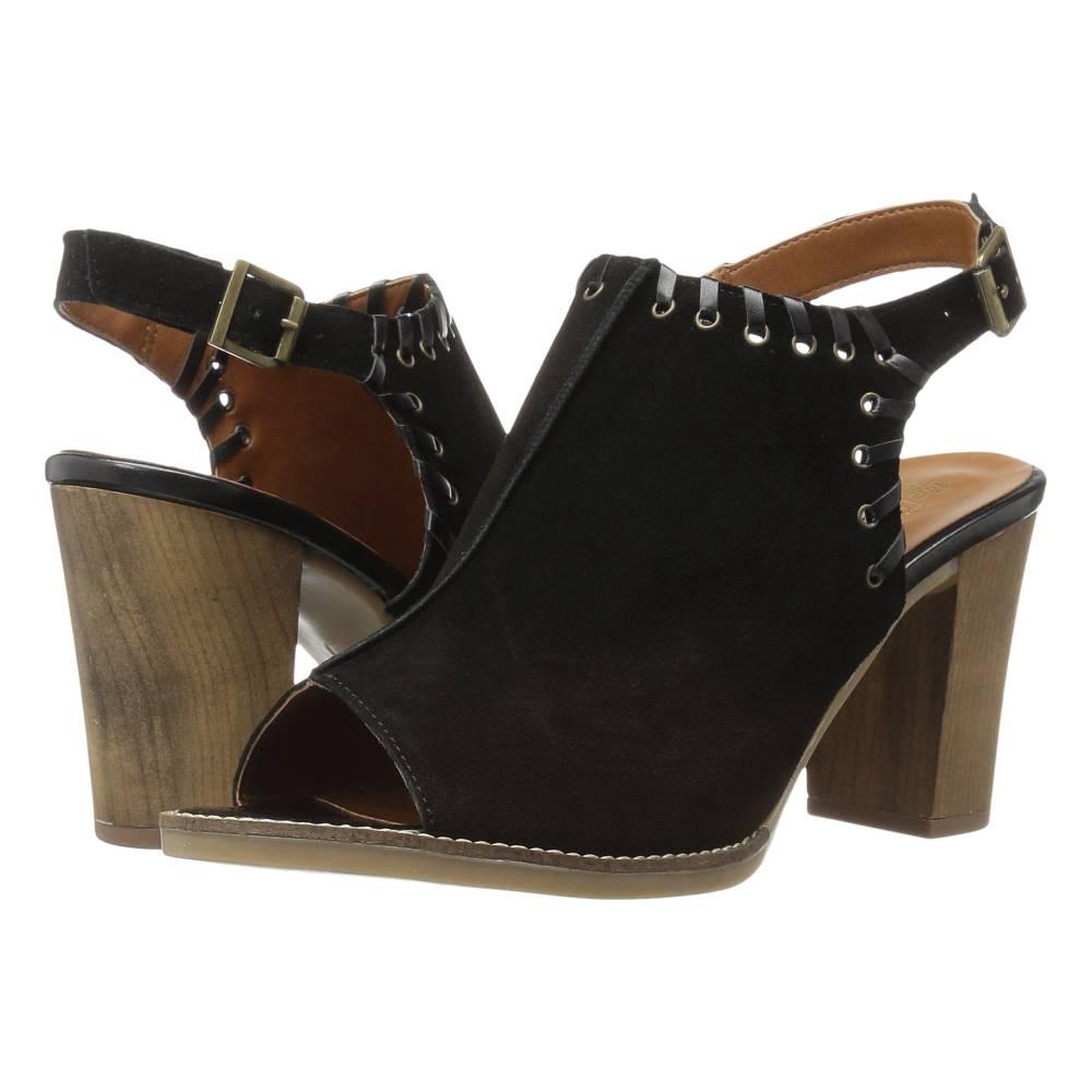 ベラヴィータ レディース シューズ・靴 サンダル・ミュール【Ora-Italy】Black Italian Suede Leather