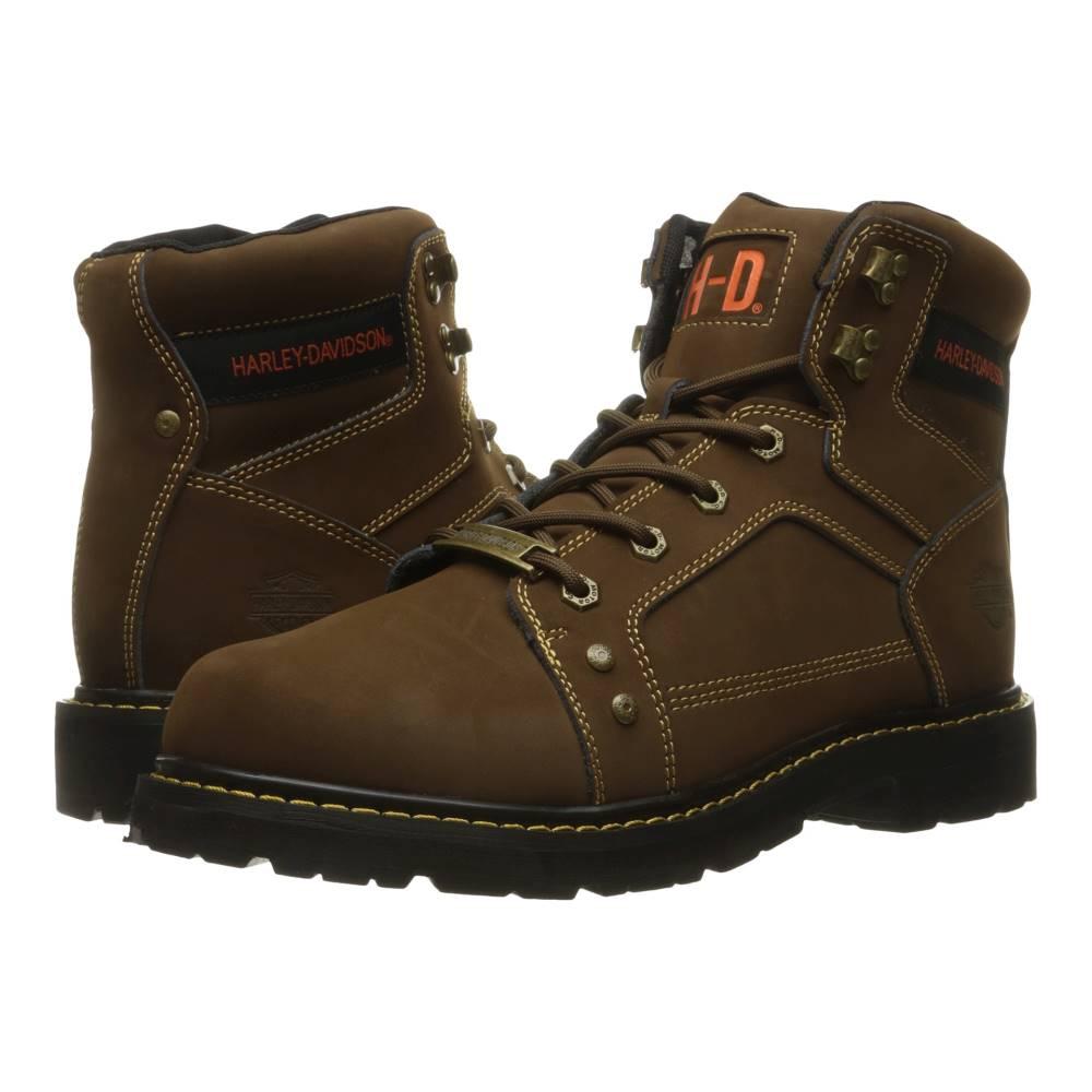 ハーレーダビッドソン メンズ シューズ・靴 ブーツ【Keating】Brown