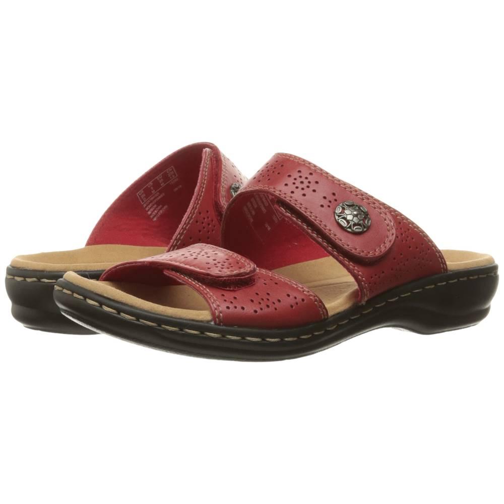 クラークス レディース シューズ・靴 サンダル・ミュール【Leisa Lacole】Red Leather
