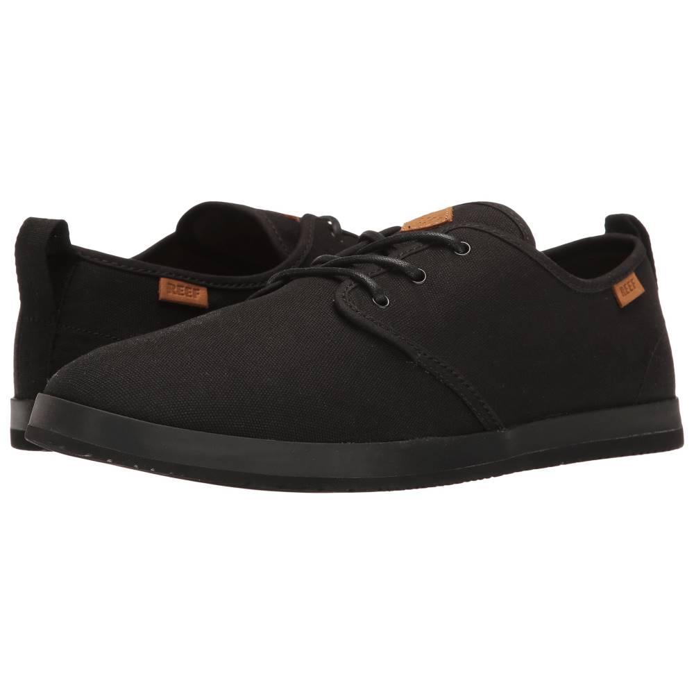 リーフ メンズ シューズ?靴 スニーカー【Landis】Black/Black