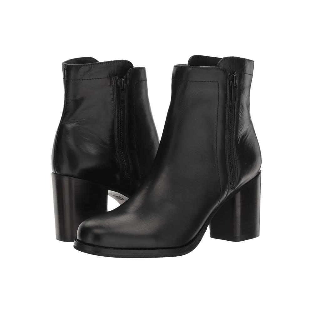 フライ レディース シューズ・靴 ブーツ【Addie Double Zip】Black Smooth Antique Pull-Up