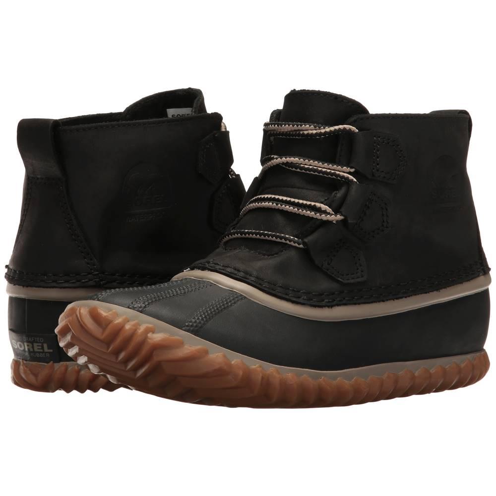 ソレル レディース シューズ・靴 ブーツ【Out 'N About' Leather】Black 3