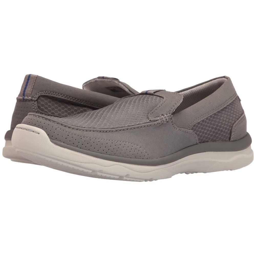 クラークス メンズ シューズ・靴 ローファー【Marus Step】Grey Synthetic
