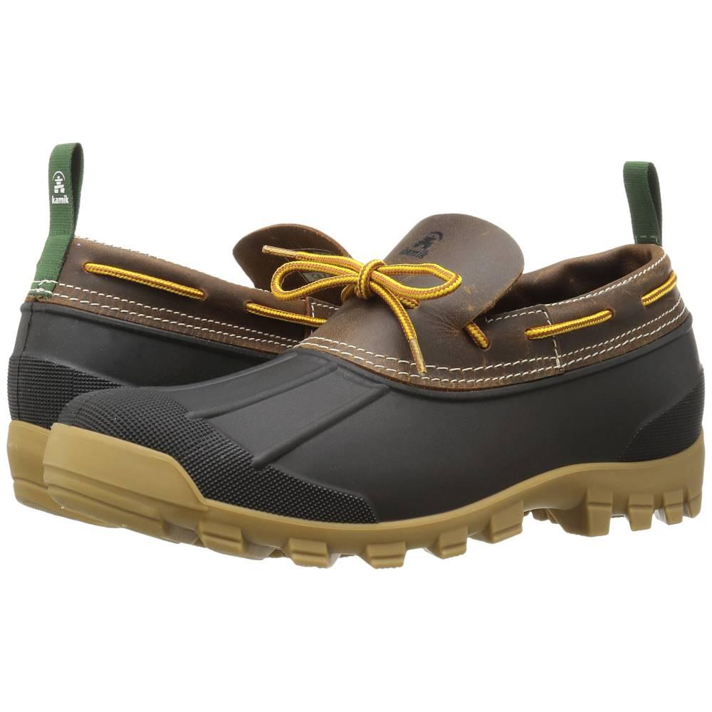 カミック メンズ シューズ・靴 ブーツ【Yukons】Dark Brown