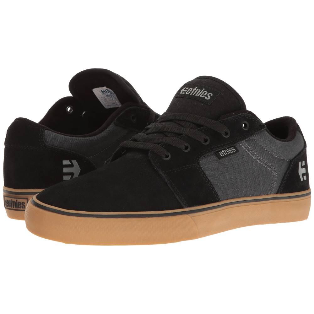 エトニーズ メンズ シューズ・靴 スニーカー【Barge LS】Black/Dark Grey/Gum