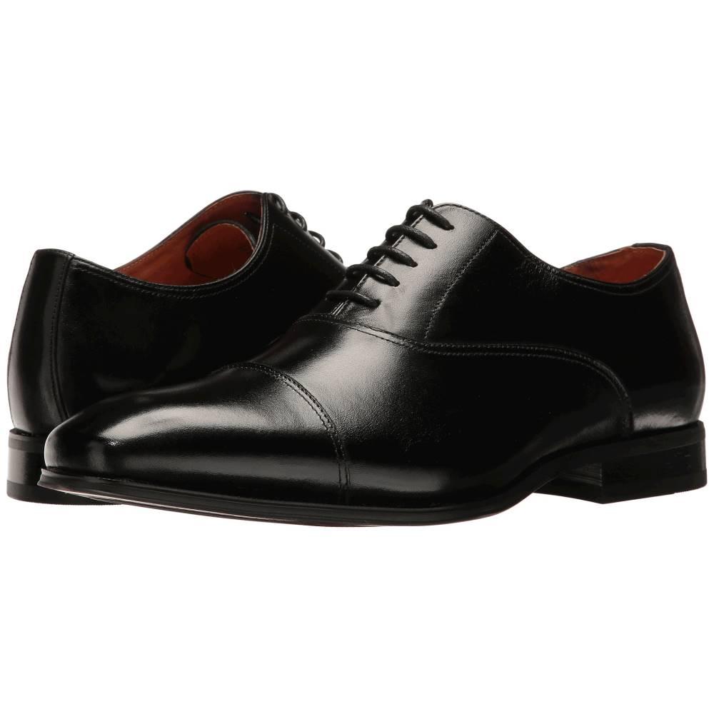 フローシャイム メンズ シューズ・靴 革靴・ビジネスシューズ【Corbetta Cap Toe Oxford】Black Smooth