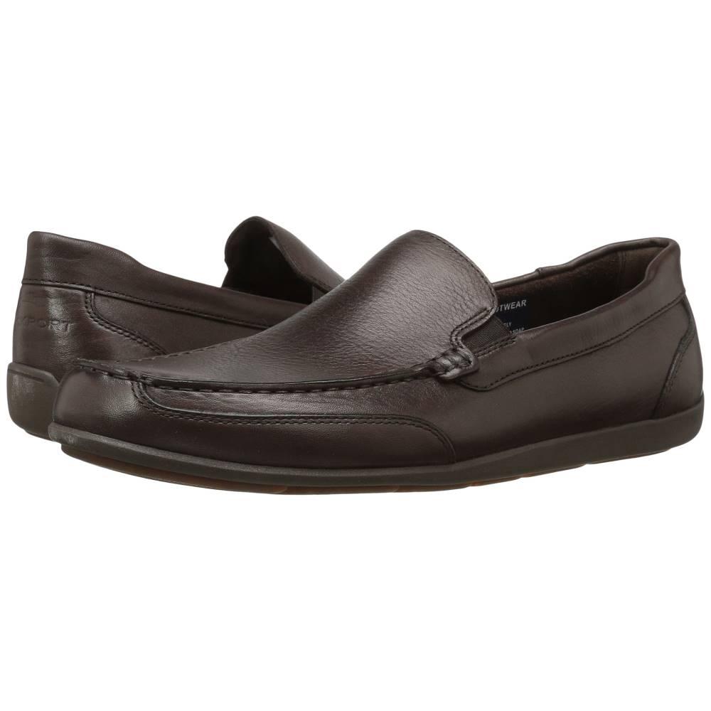 ロックポート メンズ シューズ・靴 ローファー【Bennett Lane 4 Venetian】Brown Leather