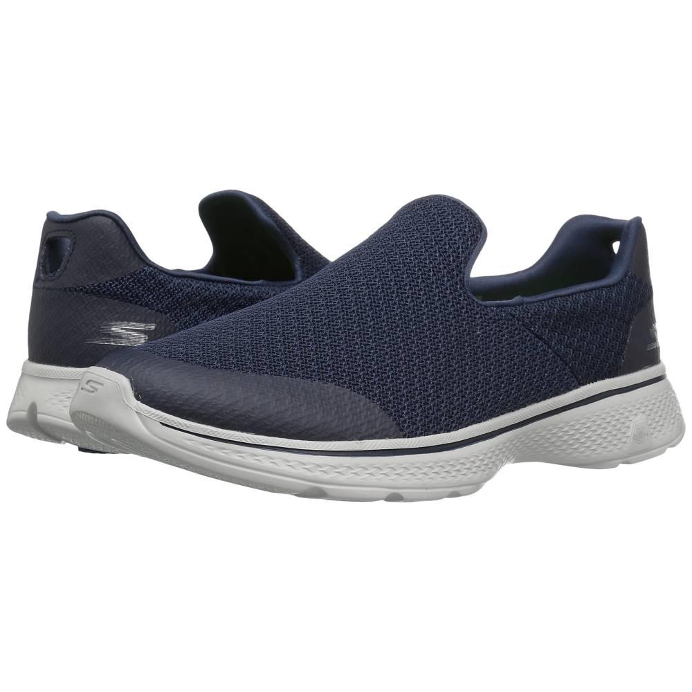 スケッチャーズ メンズ シューズ?靴 スニーカー【Go Walk 4 - Expert】Navy/Gray