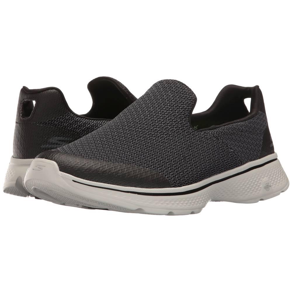 スケッチャーズ メンズ シューズ?靴 スニーカー【Go Walk 4 - Expert】Black/Gray