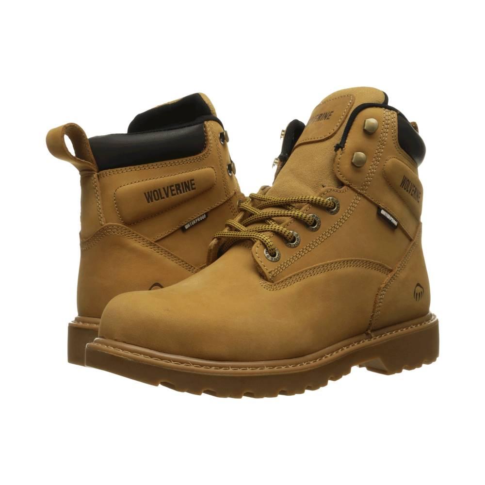 ウルヴァリン メンズ シューズ・靴 ブーツ【Floorhand Steel Toe】Wheat