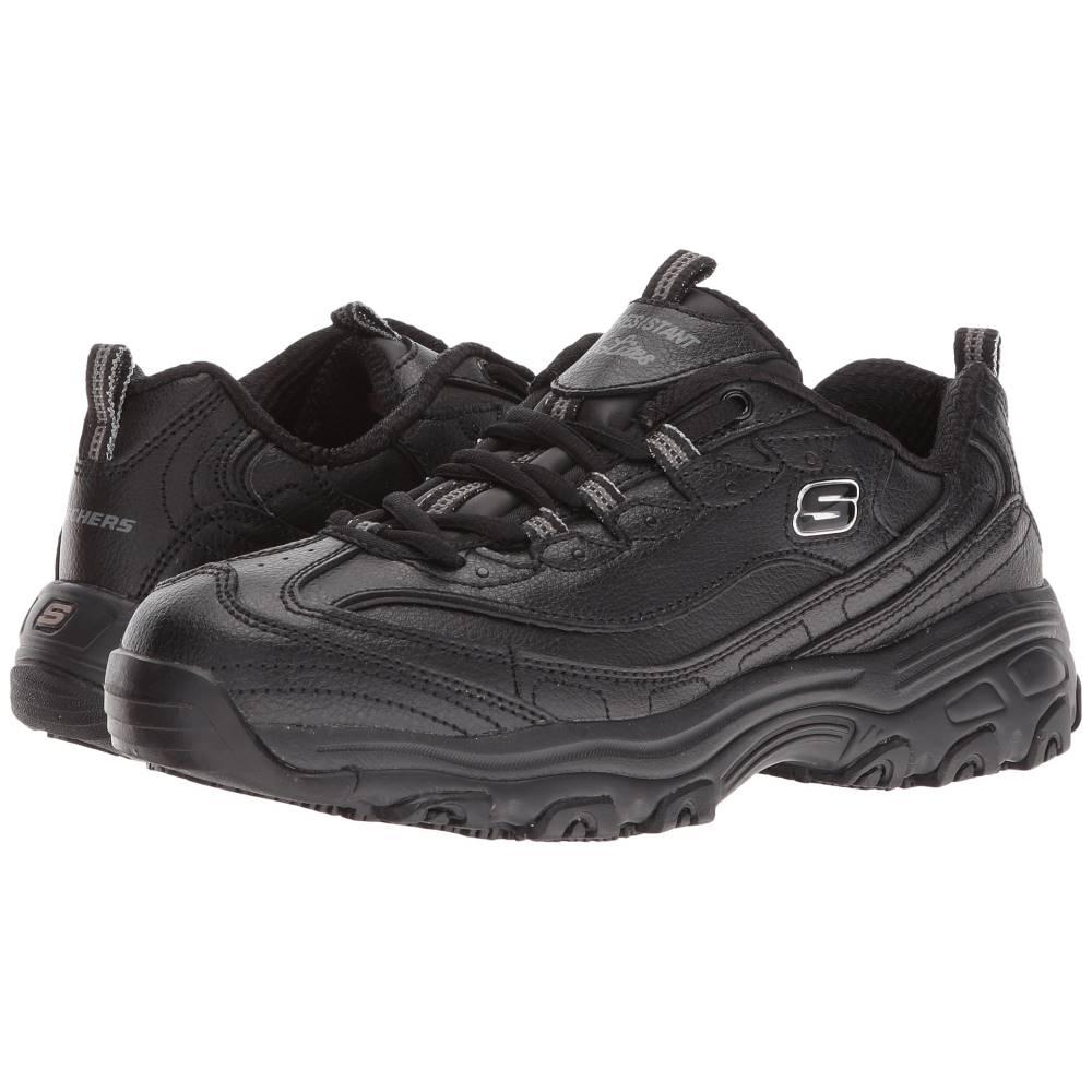 スケッチャーズ レディース シューズ・靴 スニーカー【D'lite SR - Marbleton】Black Embossed Leather/Trim